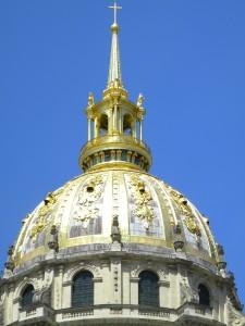 The dome of the chapel at the Musée de l'Armée.