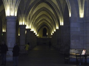 The Hall of Guards inside the Conciergerie