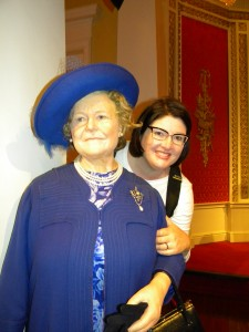 Me with the Queen Mum!