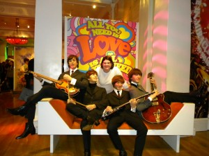 Thing 1 with the Beatles!