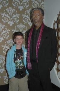 Thing 1 with Morgan Freeman