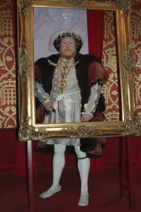 King Henry VIII, father of Queen Elizabeth I.