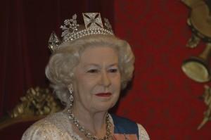 The current queen, Queen Elizabeth II.