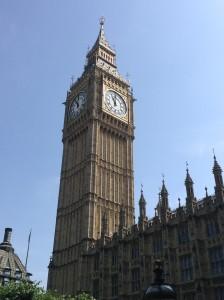 Big Ben at Westminster Palace