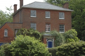 The house that Lewis Carroll bought for several of his sisters to live in. They never married and he helped support them, as was the custom of a male relative at the time.