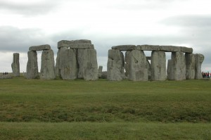 Stonehenge . . . we made it!